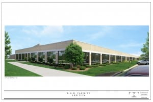 WOW Distribution Facility - Office Elevation 11x17